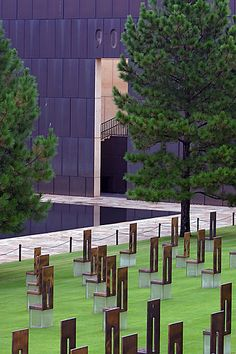 Oklahoma City National Memorial, Oklahoma City, Oklahoma