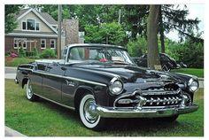 1955 DeSoto Freedom Four Door Convertible Retro Cars, Vintage Cars, Antique Cars, Desoto Firedome, Desoto Cars, Car Trailer, American Motors, Convertible, Automobile
