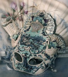 Masquerade~~♥~~Venice Italy has the most beautiful and ornate masks I have ever seen~~♥~~