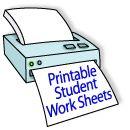 Education World: Work Sheet Library