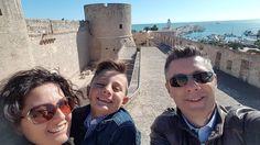 #manfredonia #puglia #italy #selfie #castello #castle