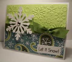 My favorite card... I'm going to try to recreate this for Christmas '12