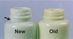Identifying jadeite reproductions - helpful for eBay shoppers.
