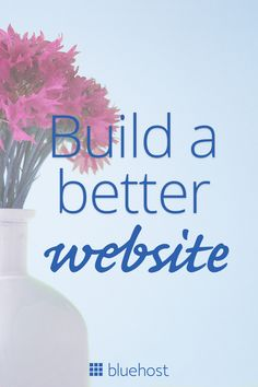 Whatever site you want, build it better with #Bluehost. Start your #website today for only $2.95/mo. #Ideas #Freelance #Entrepreneur #Website #WebsiteIdeas #SmallBusiness #DIY #Blog #Blogger #Brand #Branding #Marketing #WebsiteLayout #WebsiteDesign #WebsiteInspiration #Ideas #Freelance #Entrepreneur Make Money From Pinterest, Make Money From Home, Make Money Online, How To Make Money, Writing A Business Plan, Business Planning, Seo Marketing, Affiliate Marketing, Create Your Website