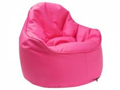 In honor of Breast Cancer Awareness: 10 Designer Pink Furniture - Decoration Top Eames Dining Chair, Parsons Dining Chairs, Pub Chairs, Office Chairs, Movie Chairs, Hot Pink Furniture, Cool Furniture, Furniture Design, Leather Bean Bag Chair