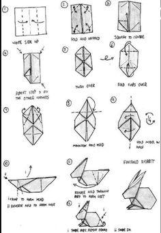 Origami Rabbit Tutorial
