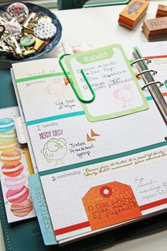 Color Coding your planner with stamps | Cocoa Daisy | Cocoa Daisy