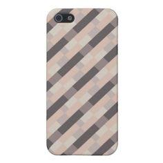 35,95€ Geometric Pattern, Diagonal Lines, Bauhaus Inspired Iphone 5 case for Girls iPhone 5 Cobertura #cute #elegant #casual