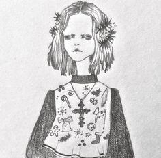 ISSA GRIMM fashion illustration   design   style