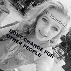 My Edit. Be Yourself!!