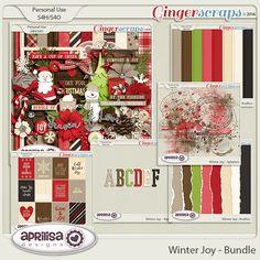 Winter Joy - Bundle by Aprilisa Designs.  christmas