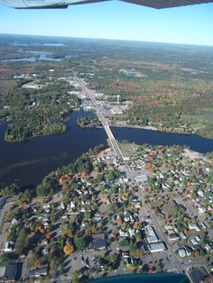 Tomahawk, WI...where we vacationed when I was a kid.