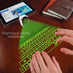 rogeriodemetrio.com: Virtual Laser Projected USB Bluetooth Keyboard