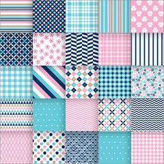 素材のキャプチャ Textile Pattern Design, Textile Patterns, Pattern Paper, Pattern Art, Fabric Design, Geometric Patterns, Floral Patterns, Mosaic Design, Fashion Illustration Sketches