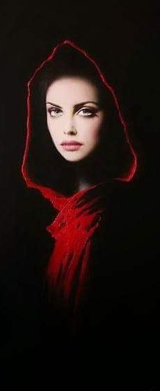 Fashion,Beauty,Landscape,Home Designe...RED VIBRANT LIFE, TRAPPED IN THE SHADOWS...IVET