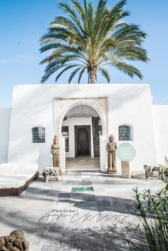 I had chance to went today to see incredible Luxury Natural Hotel & Spa in Ibiza, Spain.