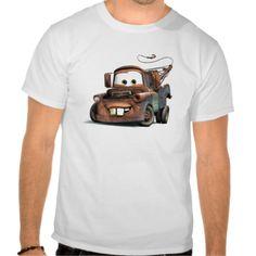 Tow Truck Mater Smiling Disney Tee Shirt