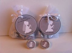 First Communion Favor Bag Set - Silhouette Design