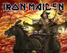 Rock Album Artwork | Heavy Metal and Gothic Art - Iron Maiden Album Cover Art Wallpapers ...