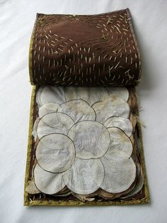 Susan Mills Artist Books: Checklist (vegetable parchment text block; kozo cover with plant dyes)