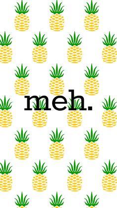 Girl Uninterrupted cute pineapple wallpaper lockscreen meh