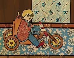 #turkish #miniature #art meets the movies by Murat Palta