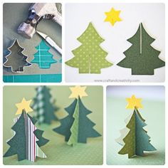 DIY x-mas present, let's do it! Little Christmas Trees, Christmas Tree Crafts, Christmas Baby, Homemade Christmas, Christmas Time, Christmas Decorations, Christmas Ornaments, Office Holiday Party, Xmas Wreaths