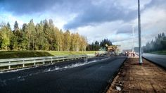 MOBA - Connecting people with better roads between Moskau and St. Petersburg.