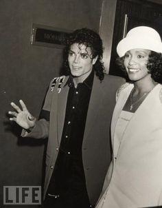 Michael Jackson & Whitney Houston in their prime.