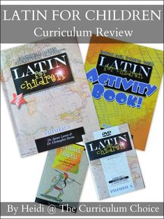 A Review of Latin For Children from Classical Academic Press: a Latin curriculum for grades 4-7 with video instruction