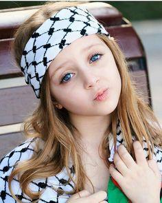 A little Palestinian angel