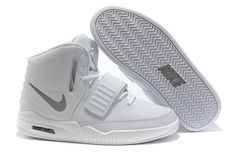Nike Air Yeezy white grey Shoes