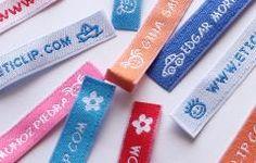 Etiquetas personalizables para marcar la ropa