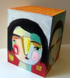 Be yourself, live your dream art box