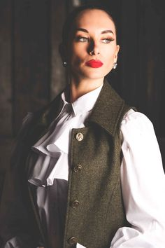 Reiver Waistcoat (Helmsdale Tweed)