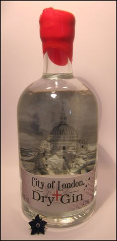 London: City of London dry PD.... So want this bottle..my roots