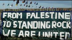 Palestinians join Standing Rock Sioux to protest Dakota Access Pipeline ...