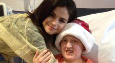 Selena Gomez Visited a Children's Hospital on Christmas Eve