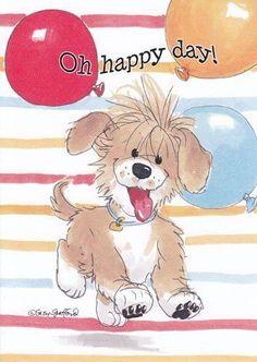 "Suzy Zoo Birthday Cards | Card Birthday Suzy's Zoo ""On Happy Day"" by Greeting Cards - Birthday ..."