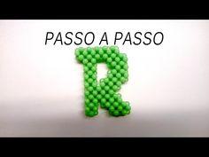 Passo a Passo Letra R de miçangas parte 1 - YouTube