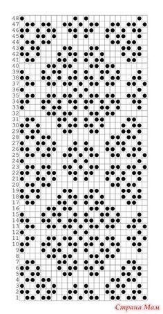 Photo from album Crochet Chart, Filet Crochet, Crochet Doilies, Knit Crochet, Card Patterns, Mosaic Patterns, Crochet Patterns, Knitting Machine Patterns, Knitting Stitches