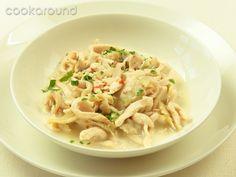 Zuppa di pollo e galangal: Ricette Tailandia   Cookaround
