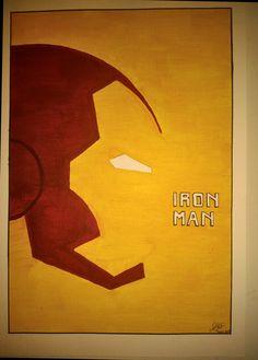 Iron Man , draw by  Antonio Cornejo Niederle.