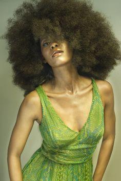 Natural Hair | Curly Afro | Big Hair