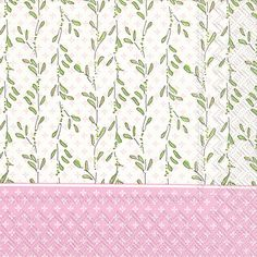 IHR Rosanne Beck Baby Shower Carriage Pink Printed 3-Ply Paper Luncheon Napkins Wholesale L707659