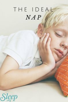 The perfect amount of time to nap so that you don't wake up feeling groggy. | Sleep.org