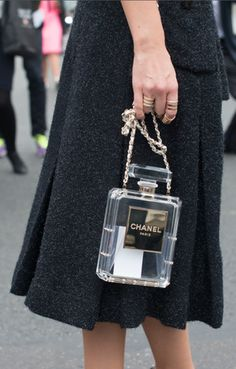 6384cccfce40 19 awesome Chanel No 5 Bottle Bag images