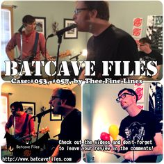 You should totally Check out Thee Fine Lines Batcave Files at http://www.batcavefiles.com #BatcaveFiles #ReasonOne #VideoMusicZine #TheeFineLines