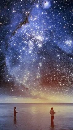 Ah yes..come closer and bring forth the stars. I'll feel safer with you near as the sight of the stars let me into eternal dream.