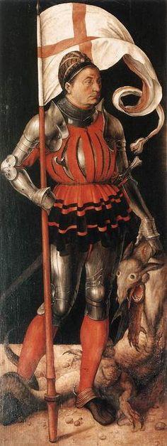 Albrecht Durer    St. George